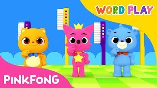 Brush Your Teeth | Word Play | Pinkfong Songs for Children