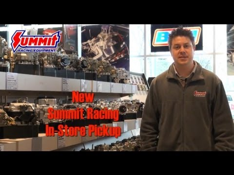 Summit Racing's New In Store Pick Up