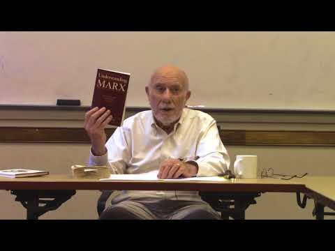 Marx, Robert Paul Wolff Lecture 1
