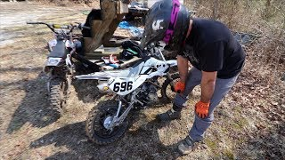 THIS PITBIKE IS FAST!!