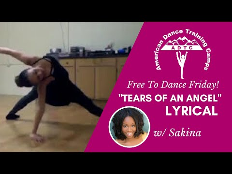 """Lyrical Dance Tutorial (Int/Adv): """"Tears of an Angel"""" By Amy Guess"""