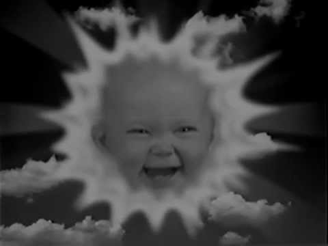 Teletubbies Secret Easter Weekend Rave Black And White YouTube - Teletubbies in black and white is terrifying