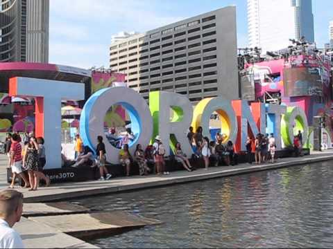 2015 Pan Am Games Sideshow: Scenes at Nathan Phillips Square