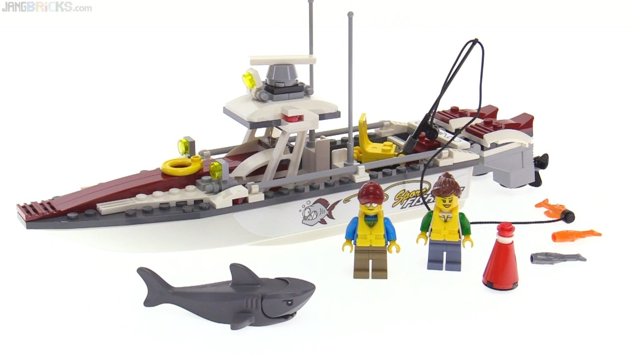 Lego City 2017 Fishing Boat Review 60147 Youtube