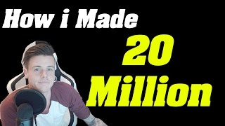 How i Made 20 MILLION GOLD!