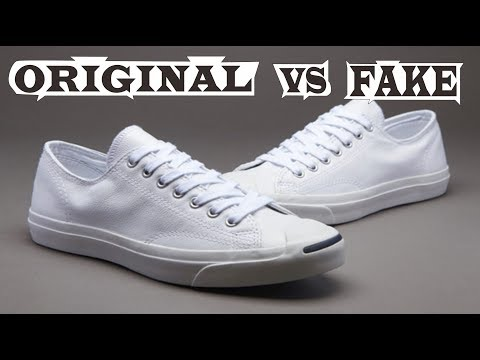 313b7afc9605 Distinguish Converse jack purcell Original and Fake - YouTube
