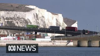 No-deal Brexit preparations step up at Britain's ports