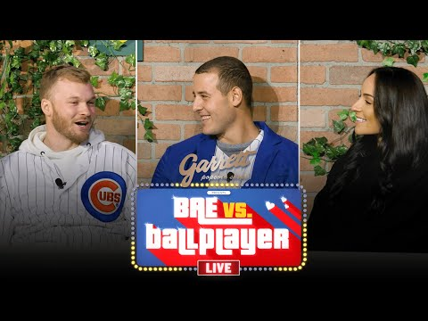 Anthony Rizzo Reveals His Favorite Musician, Pet Peeve & More | Bae Vs. Ballplayer LIVE