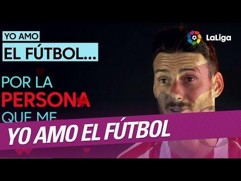 Yo amo el futbol por... Aritz Aduriz, jugador del Athletic Club