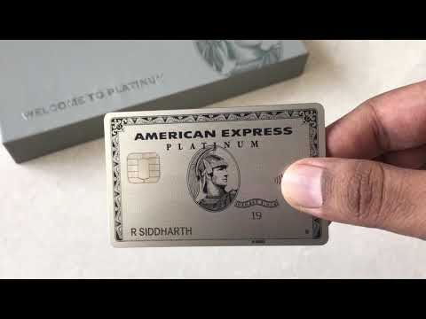 American Express Platinum Charge Card (India)
