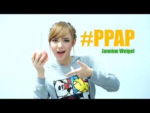 PPAP Pen Pineapple Apple Pen - Jannine Weigel (พลอยชมพู) (Parody cover)