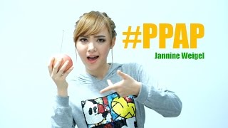 PPAP Pen Pineapple Apple Pen - Jannine Weigel (พลอยชมพู) (Parody cover)