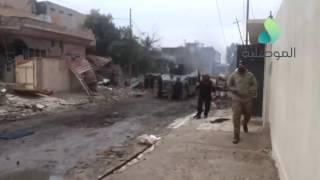 الموصلية توثق عملية قتل انتحاري من داعش حاول التسلل الى حي التاميم على يد مكافحة الارهاب