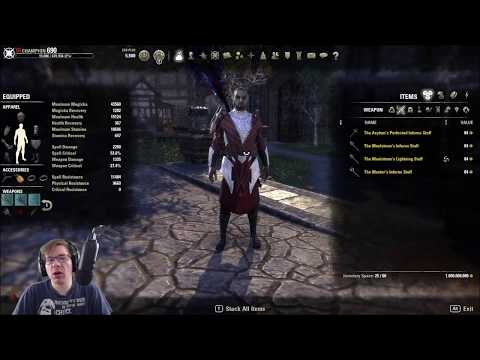 Clockwork City PTS:  Examining Unique Weapons for Magicka DPS
