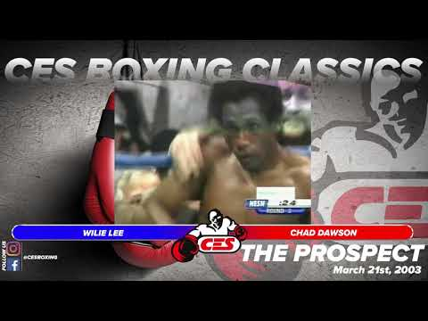 CES Boxing Classics   Chad Dawson vs  Willie Lee