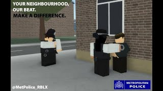 Roblox How good is this Metropolitan Police and their map of Chelsea, UK :police_car