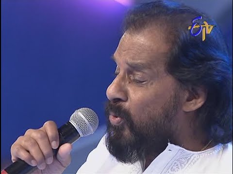 Swarabhishekam - K.J Yesudas Performance - Gali Vanalo Vana Neetilo Song - 7th September 2014