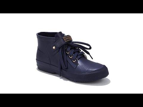 London Fog BUCKIE LaceUp Sneaker Rain Boot