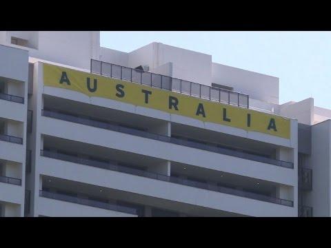 Rio Olympic Village opens -- to Australia boycott