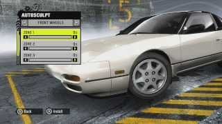 NFS ProStreet Ep2 - Cutomization S13 and Civic