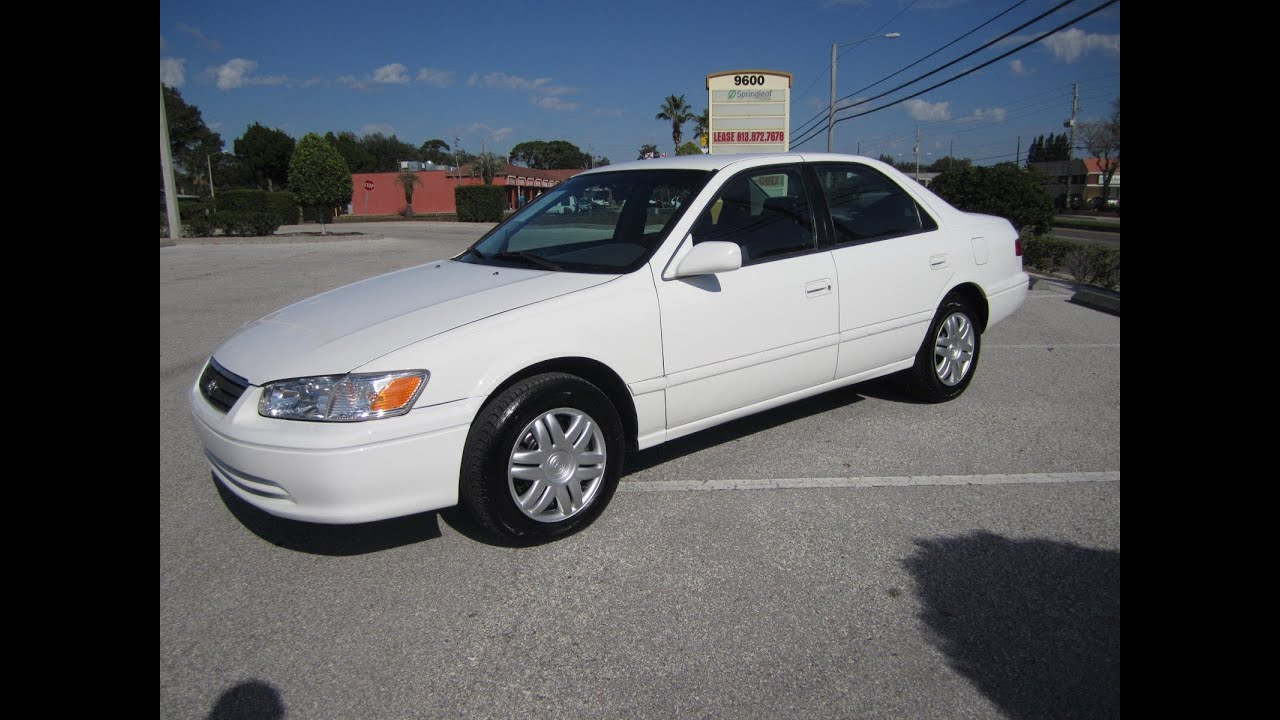 Great SOLD 2001 Toyota Camry LE 78K Miles Mint Meticulous Motors Inc Florida For  Sale