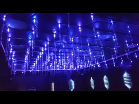 Trần 3D led full cho karaoke, bar