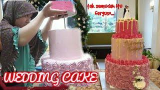 WEDDING CAKE 3 TINGKAT VERSI MURAH