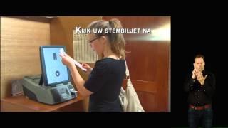 Hoe elektronisch stemmen met Smartmatic? (met gebarentaal)
