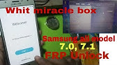 Samsung Mobile FRP Remove By Miracle Box - हिन्दी - YouTube