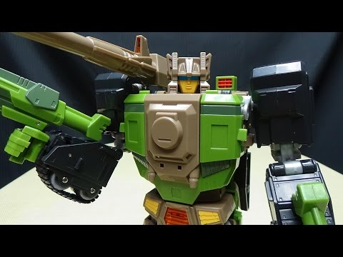 Maketoys IRONWILL (Masterpiece Hardhead): EmGo's Transformers reviews N' Stuff