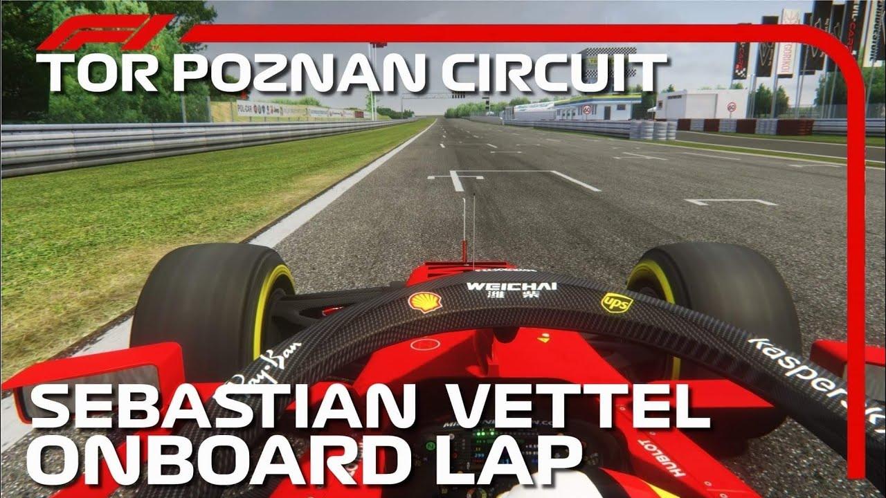 Sebastian Vettel Onboard Lap | 2020 Polish Grand Prix