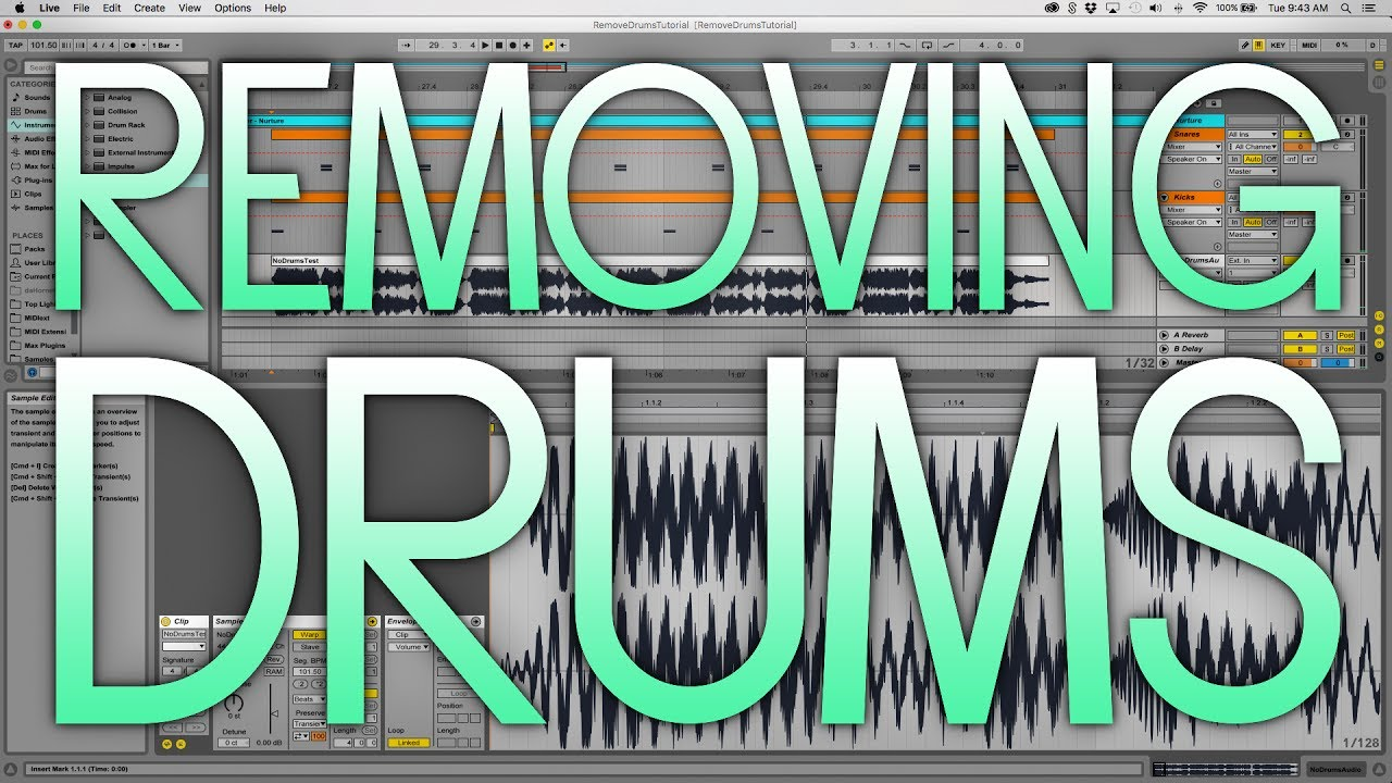 how to make drum samples