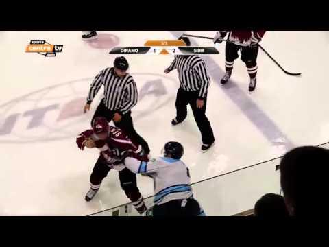 Sestito kautiņš ar Menšikovu! Dinamo Rīga vs. Sibir!