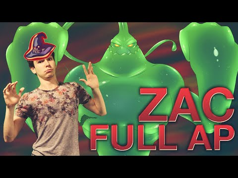 Zac Jungle Full AP - Rabadon pour plus de dégats DominGo LoL