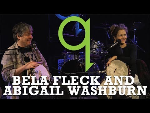 "Why Bela Fleck and Abigail Washburn don't like the phrase ""political stand"""
