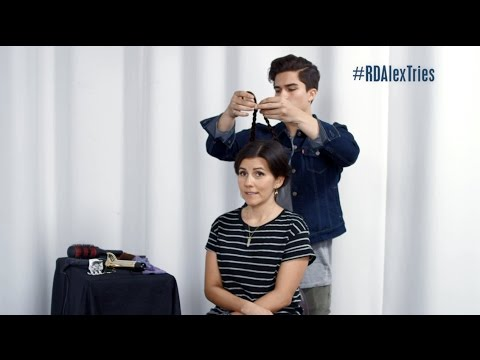 Alex Tries Ep10: Styling Hair with Candice | Radio Disney