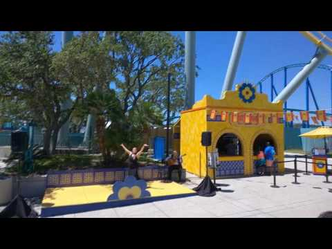 SeaWorld San Antonio Food and Wine Festival spain flamenco dancer 5 6 17