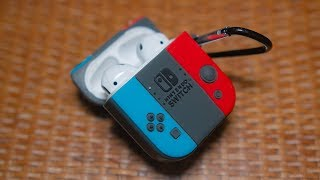 This makes your apple airpods look like a cute, little nintendo switch! i currently carry my everyday in case. highly recommend it!buy the ni...
