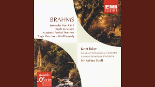 Serenade No. 1 in D Major, Op.11 (1995 Remastered Version) (1995 - Remaster) : I. Allegro molto