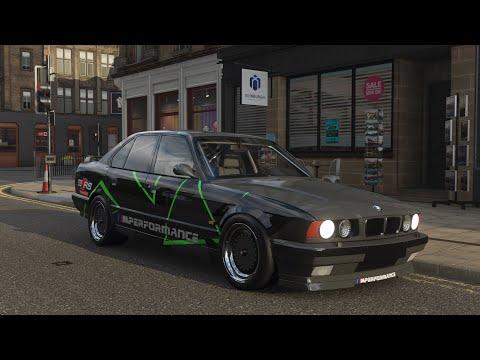 BMW E34 M5 1230HP V10 Turbo From HELL!   Streetrace & Topspeed   Forza Horizon 4