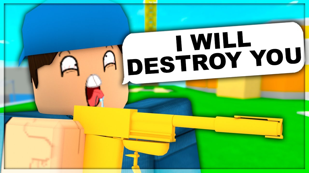 1v1 Me I Will Destroy You Roblox Arsenal Youtube