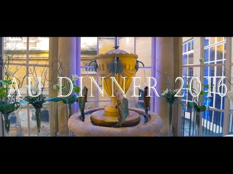 | AU Dinner 2016 | Bath Spa University | XV Productions |