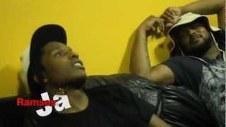 Schoolboy Q Crashes ASAP Rocky Interview (HD Part 2)