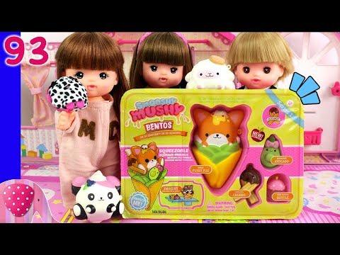 Mainan Boneka Eps 93 Bekal Lucu Smooshy Mushy Bentos Series 1 - S1P10E93 GoDuplo TV
