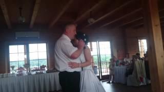 Свадьба Аудрюса и Юли.Песня отца дочери-