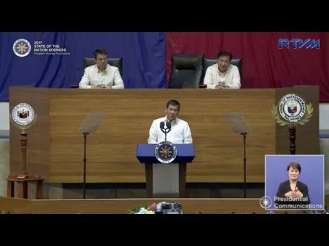 FULL VIDEO: Rodrigo Duterte's State of the Nation Address  2017