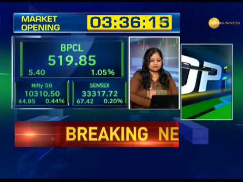 First Trade: Nifty above 10300; Maruti Suzuki, Axis Bank, Ultratech Cem, SBI trade well