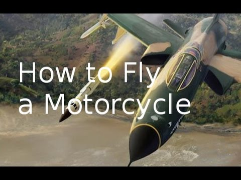Bob German's Guide to Flying Motorcycles