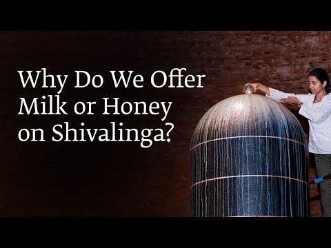 Why Do We Offer Milk or Honey on Shivalinga?