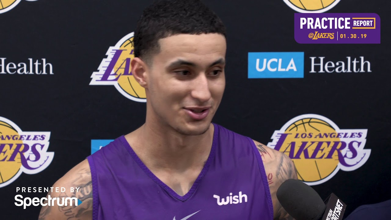 Kyle Kuzma (stress reaction) can practice but not with
